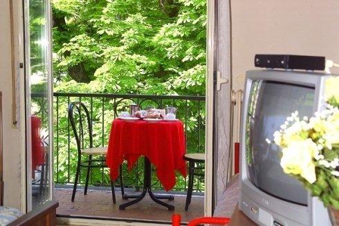 Camere dotate di tv.