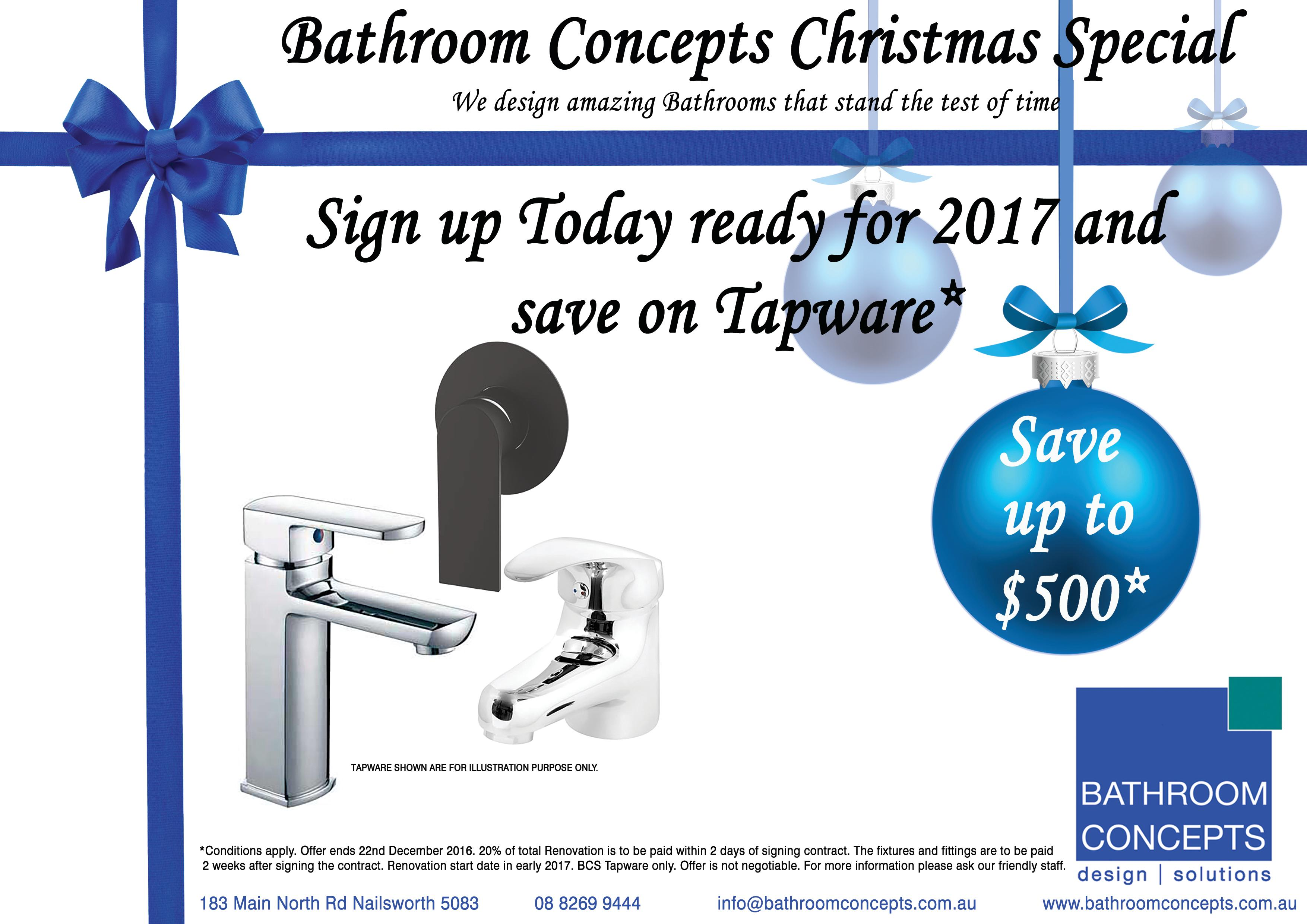 Bathroom Concepts Christmas Special