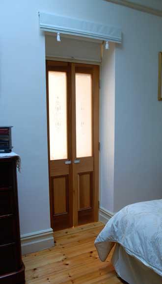 Classic style bathroom door