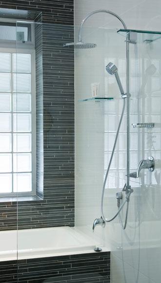 Sleek style shower