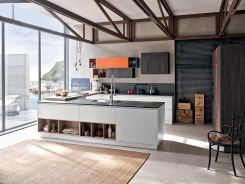 Cucina moderna Stosa