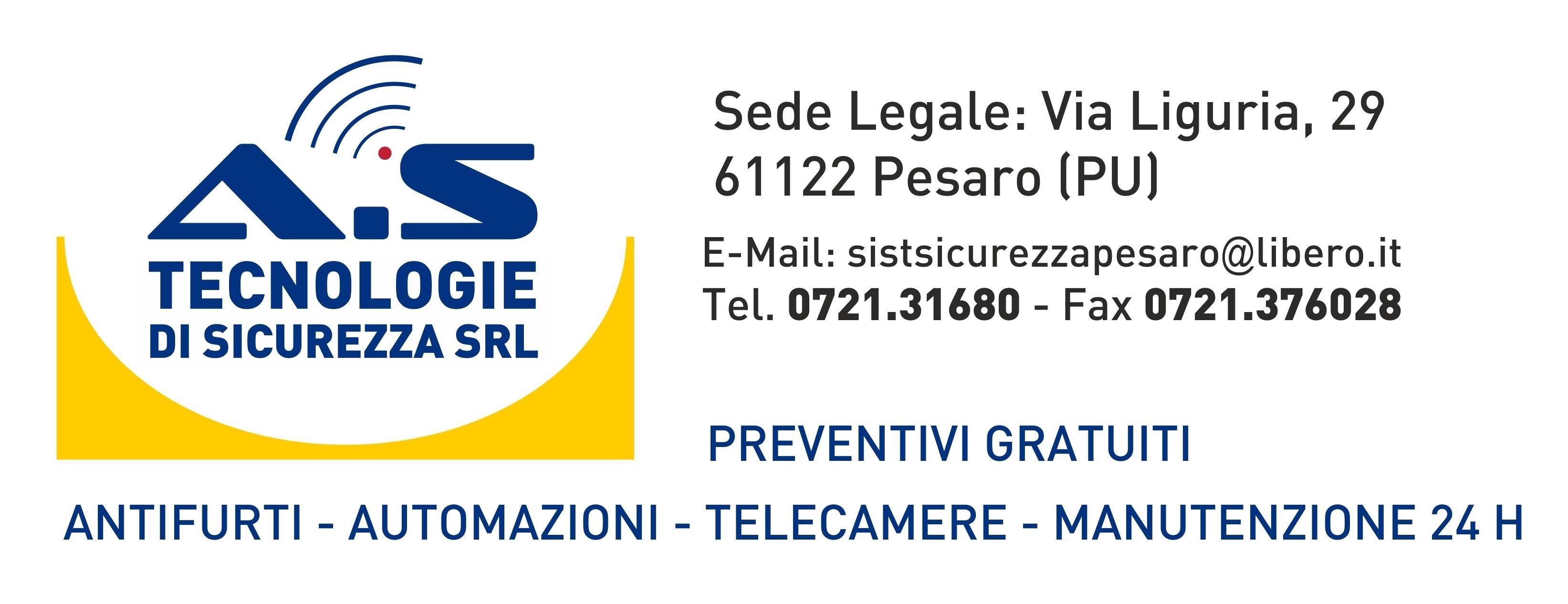A.S. TECNOLOGIE DI SICUREZZA - Logo