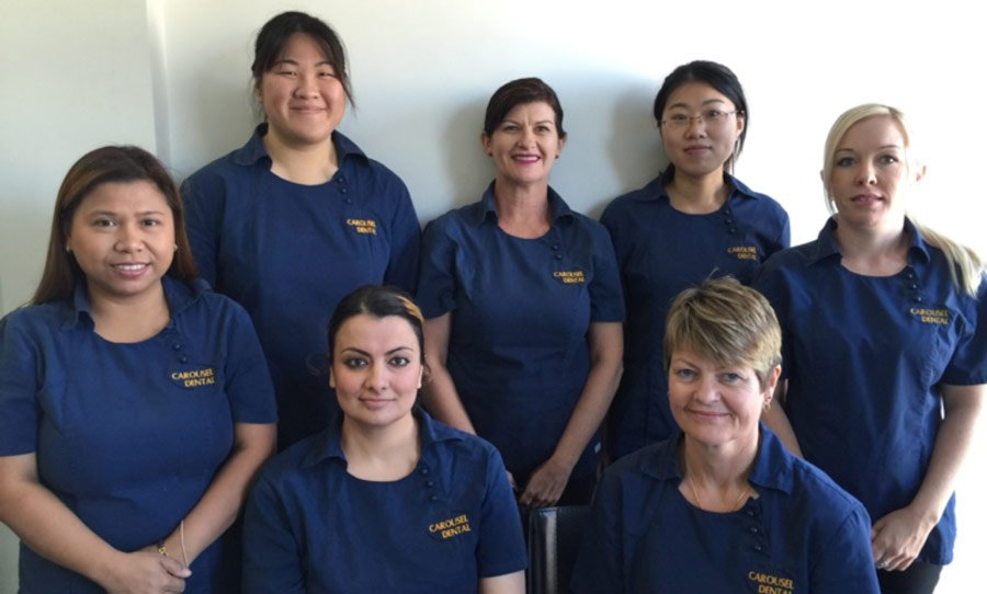 The nursing staff at our family dental clinic serving Perth