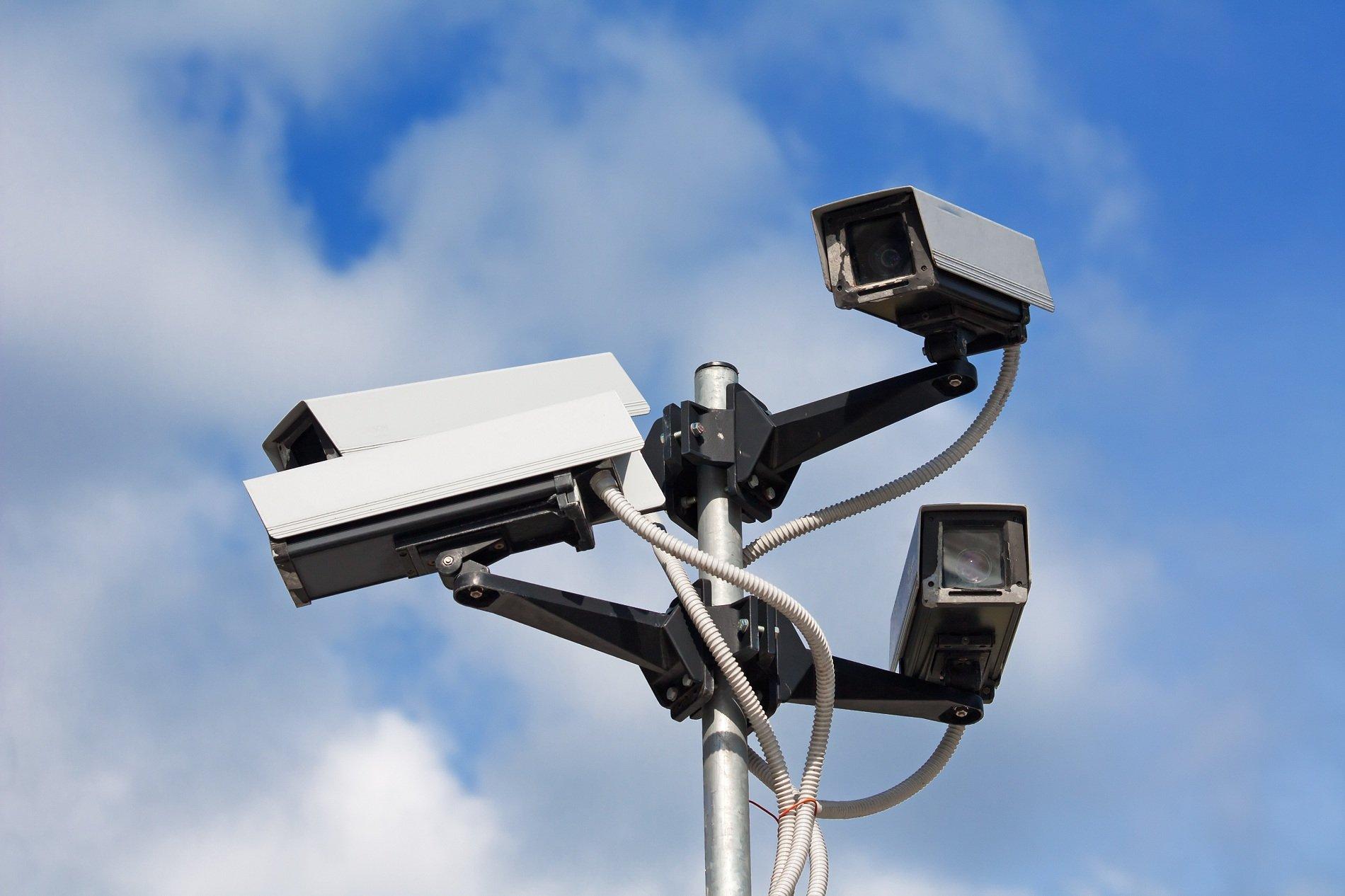 delle videocamere di sicurezza