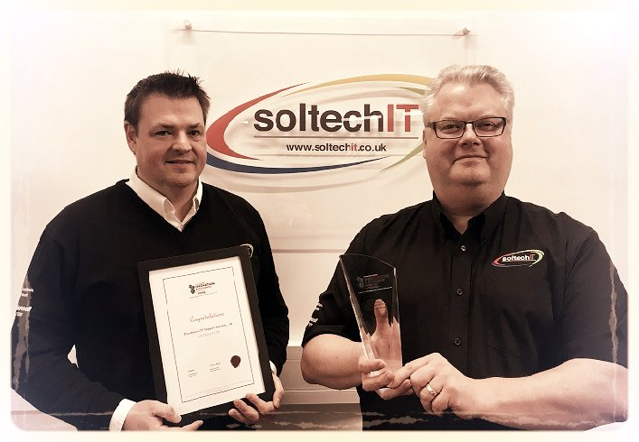 Soltech IT's Directors with Innovation & Excellence Award