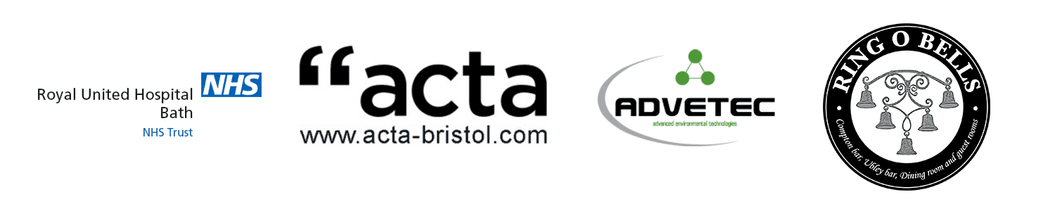 Some of our Soltech IT customers, Acta Bristol, Royal United Hospital Bath, Ring O Bells and Advetec