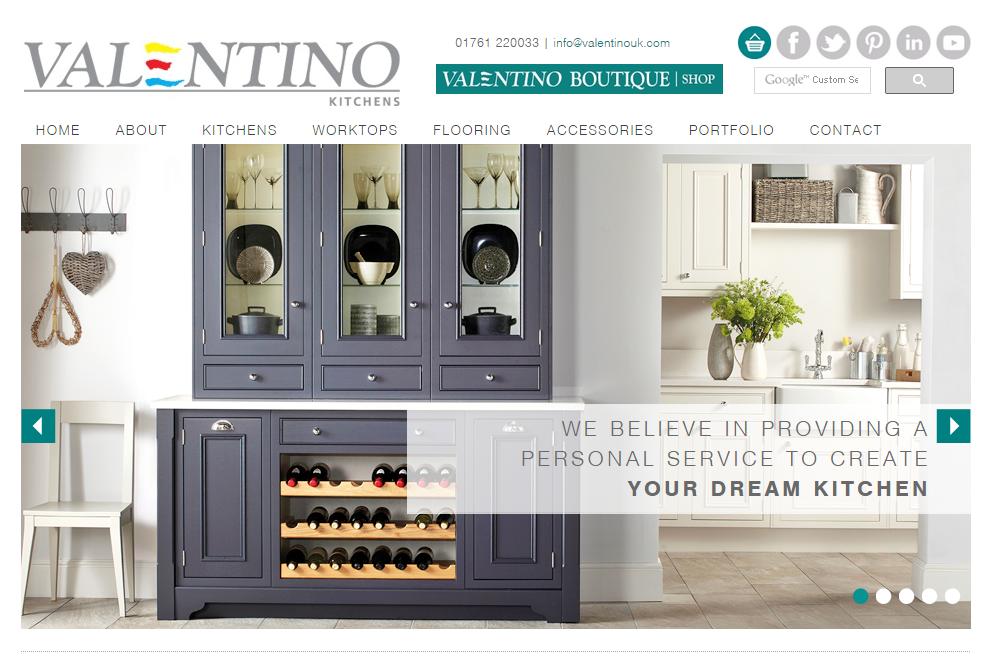 Soltech it business website design bristol for Kitchen designs centurion