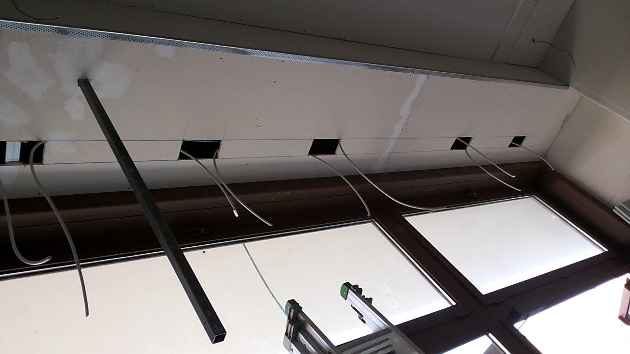 Installazione elettrica per concludere