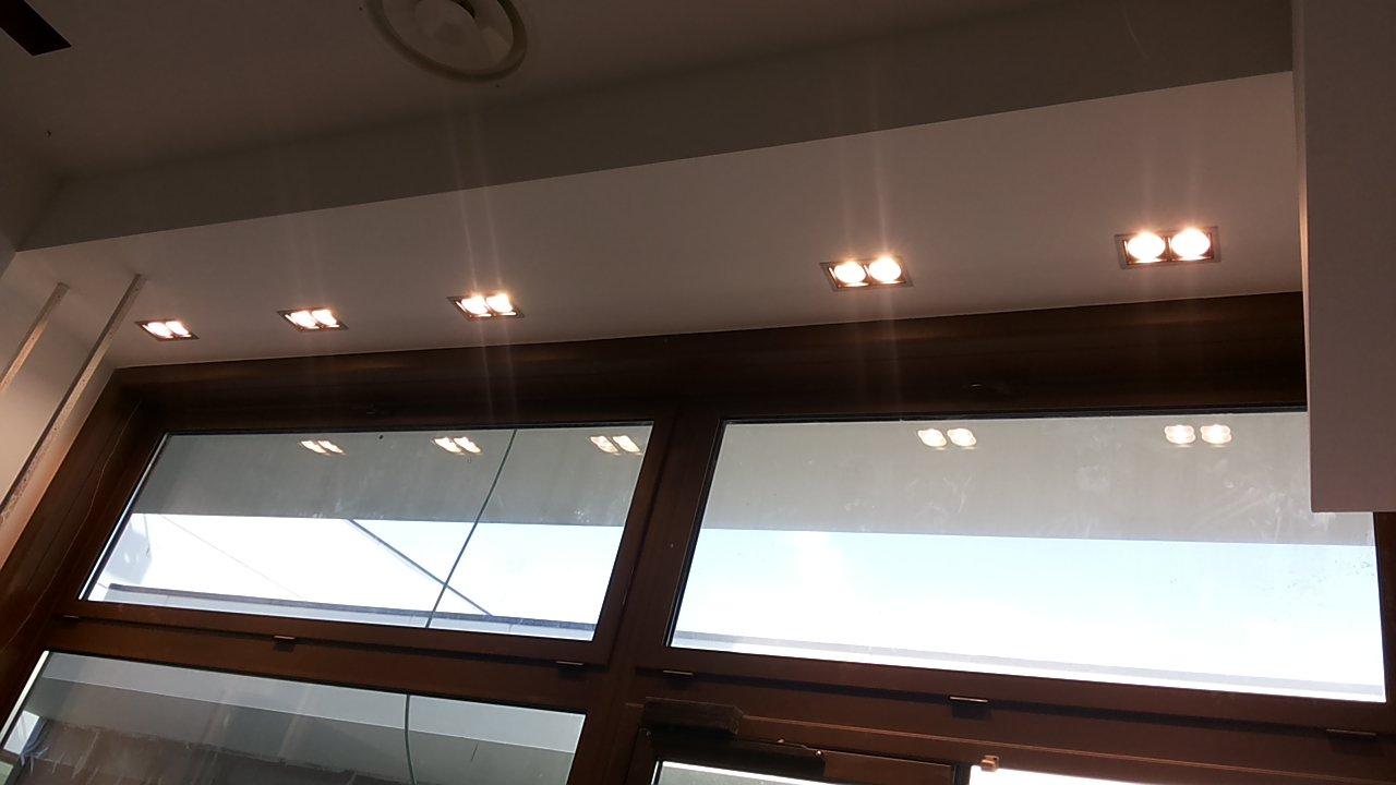 Focolai alogeni nel tetto