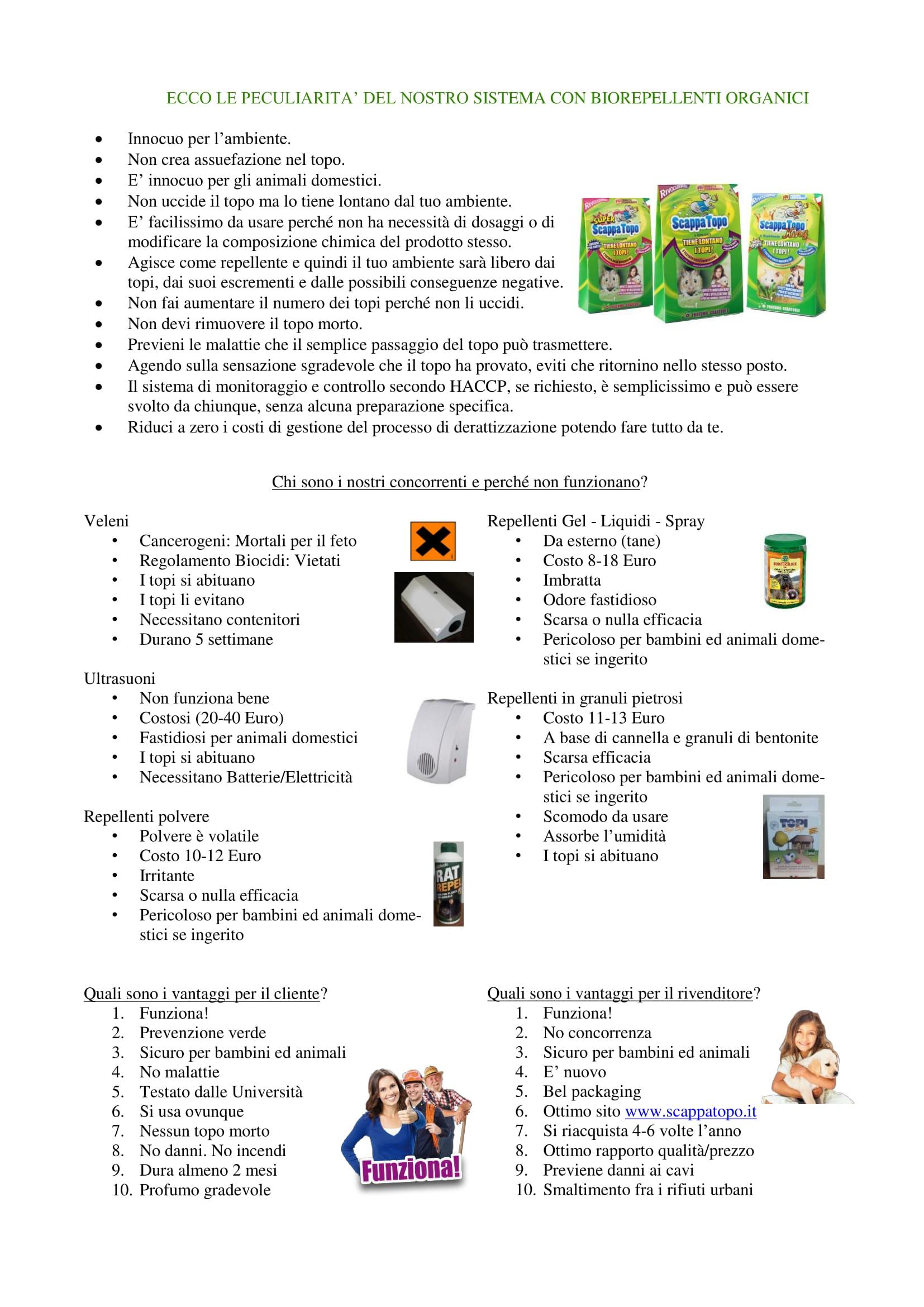 testo biorepellenti