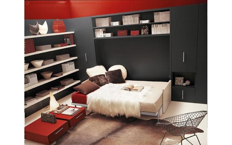 soggiorno con letto