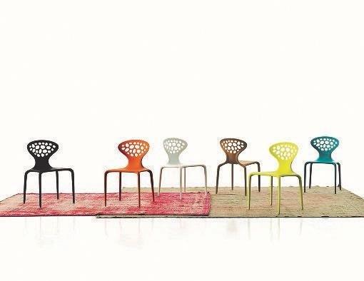 poltrone di design in vari colori
