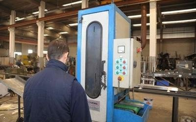 macchinari per la lavorazione del ferro