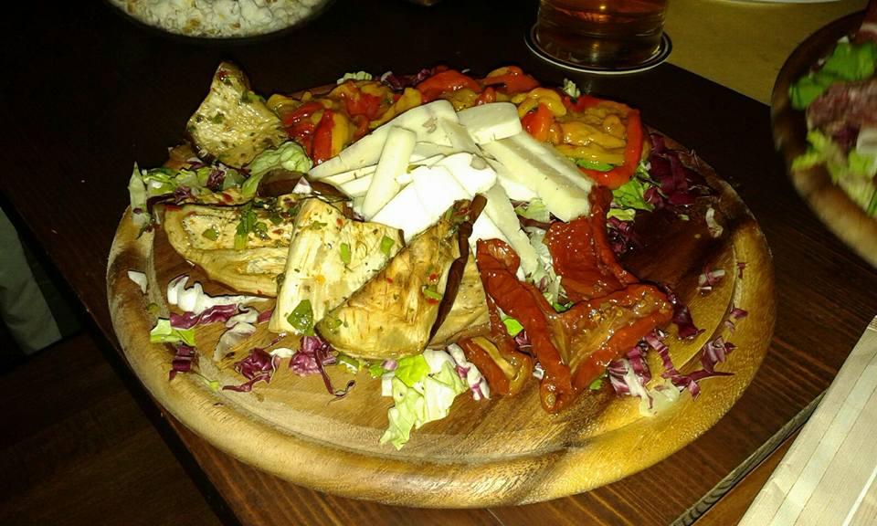 verdura e formaggi