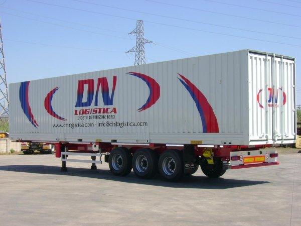 Semirimorchio portacontainer