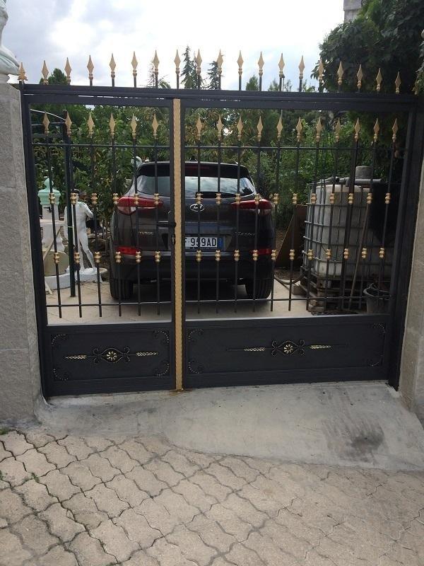 cancello finito