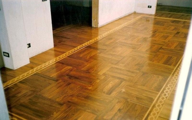vetrificazione di pavimenti di legno