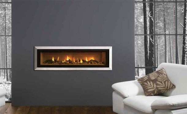 Contemporary Gas Fire