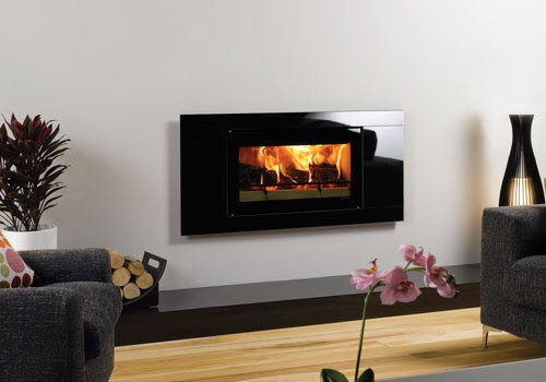Efficient Contemporary Wood Burning Stove
