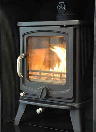 Belle Vista cast iron multifuel stove