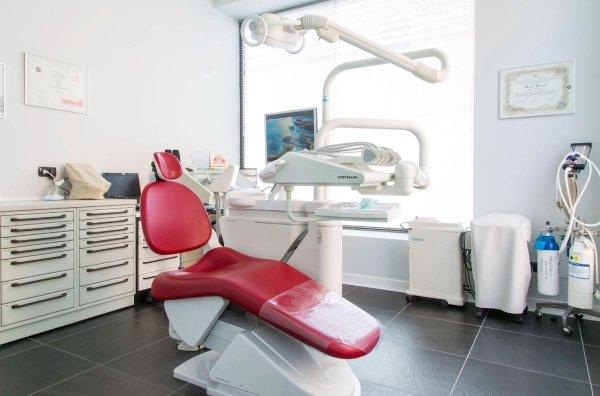 Poltrona per cure dentali