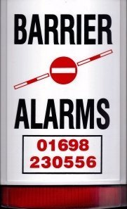 BARRIER ALARMS logo