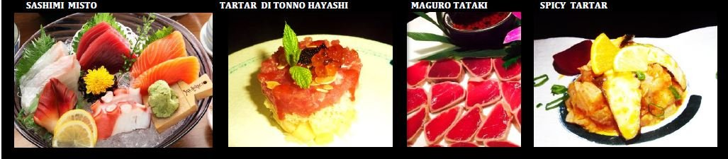 sashimi pesce crudo