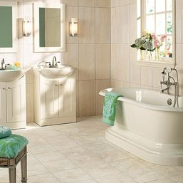 Tub and vanities