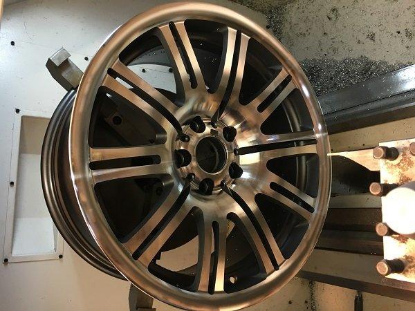 Diamond cut wheel repair service