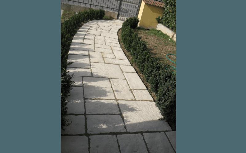 Pavimentazioni esterne castelverde cremona impresa - Pavimentazione cortile esterno ...