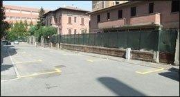 strisce parcheggi condominiali