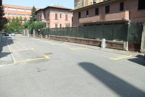 Disegno posti auto parcheggio