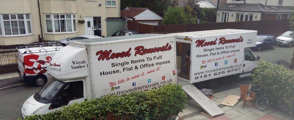 2 removals trucks
