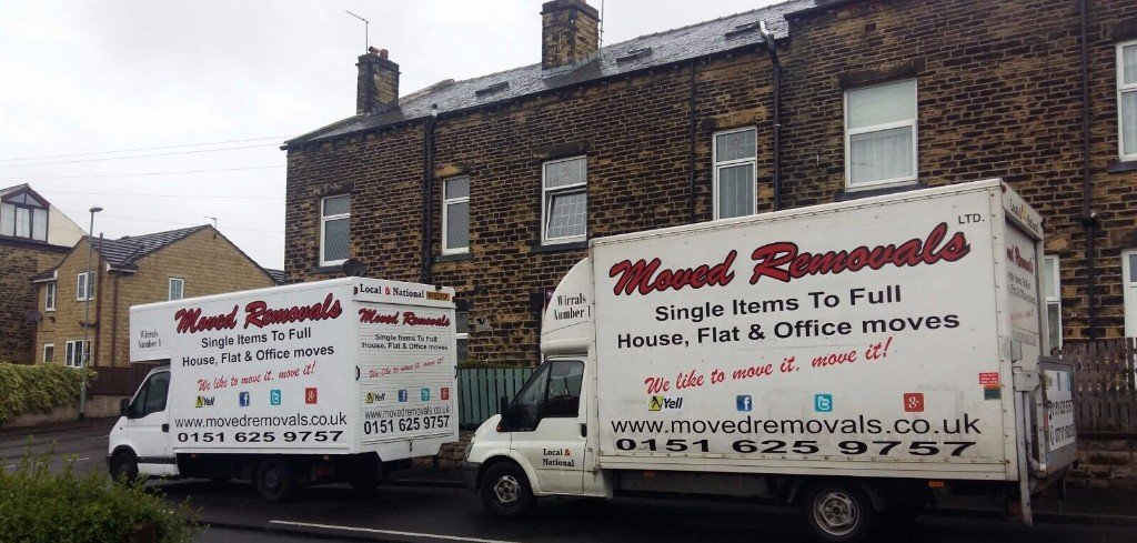 2 removals trucks