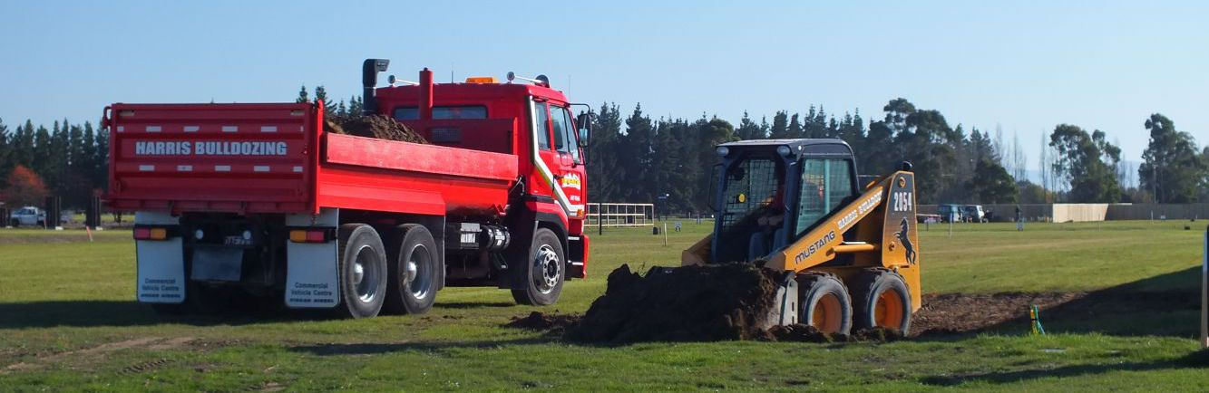 Driveway specialist preparing land for paving in Christchurch