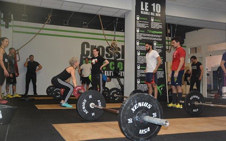 sollevamento CrossFit
