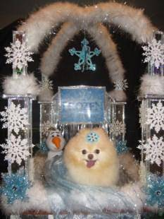 female Pomeranian costume