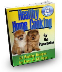 Home cooking book for Pomeranians