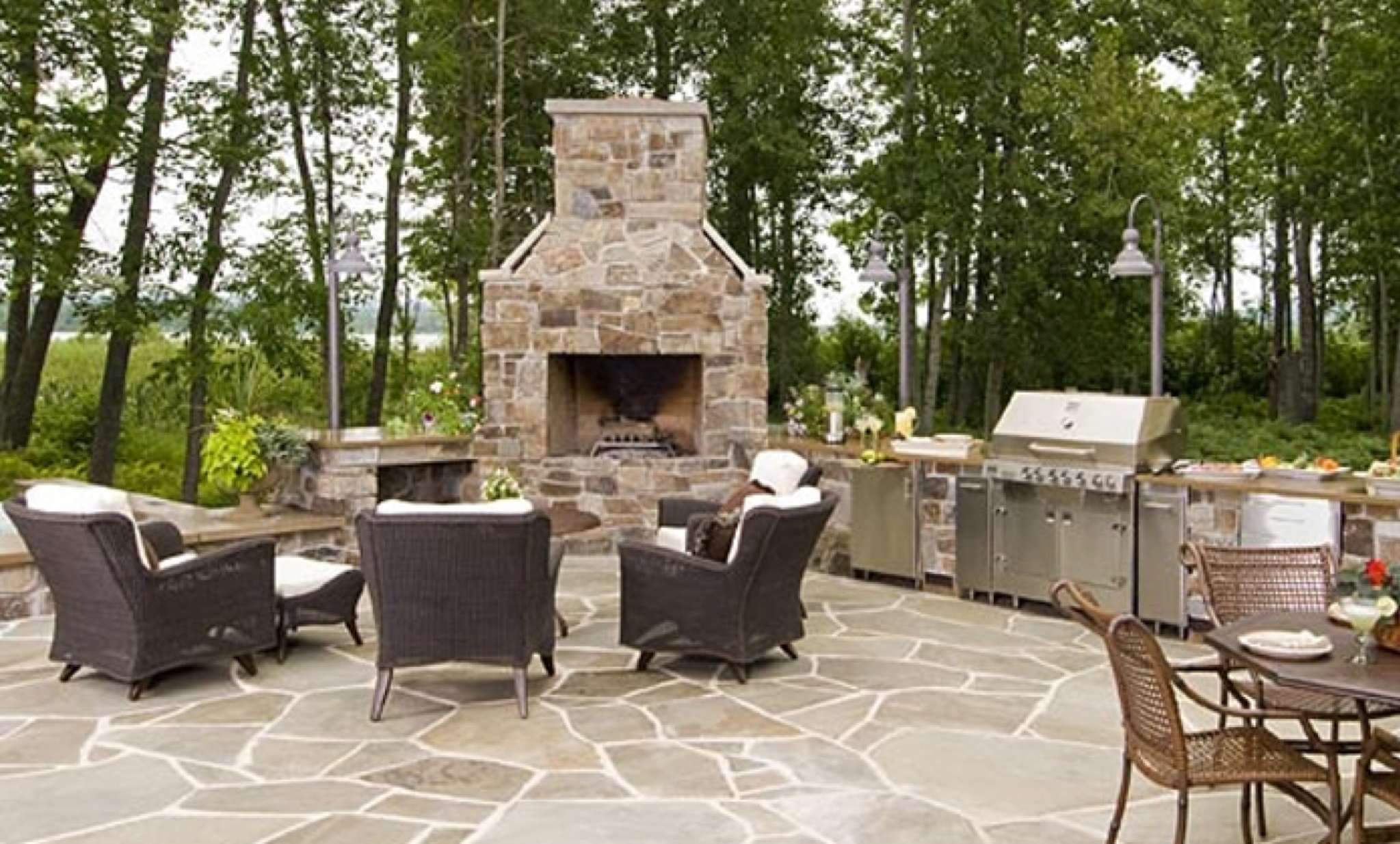 designscapes east patchogue ny outdoor fireplaces