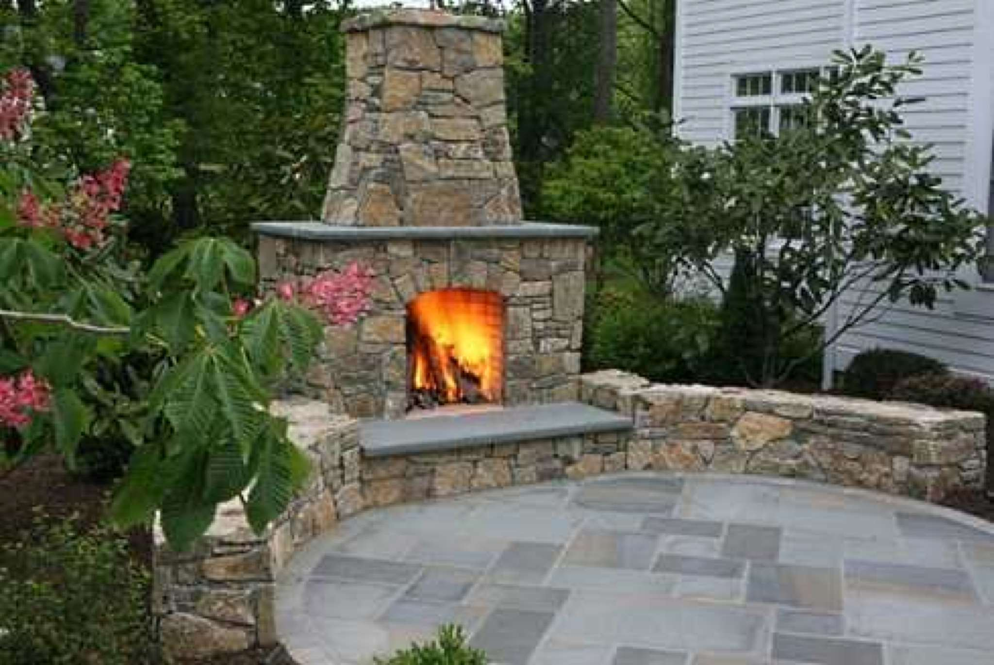 outdoor fireplace chimney dact us
