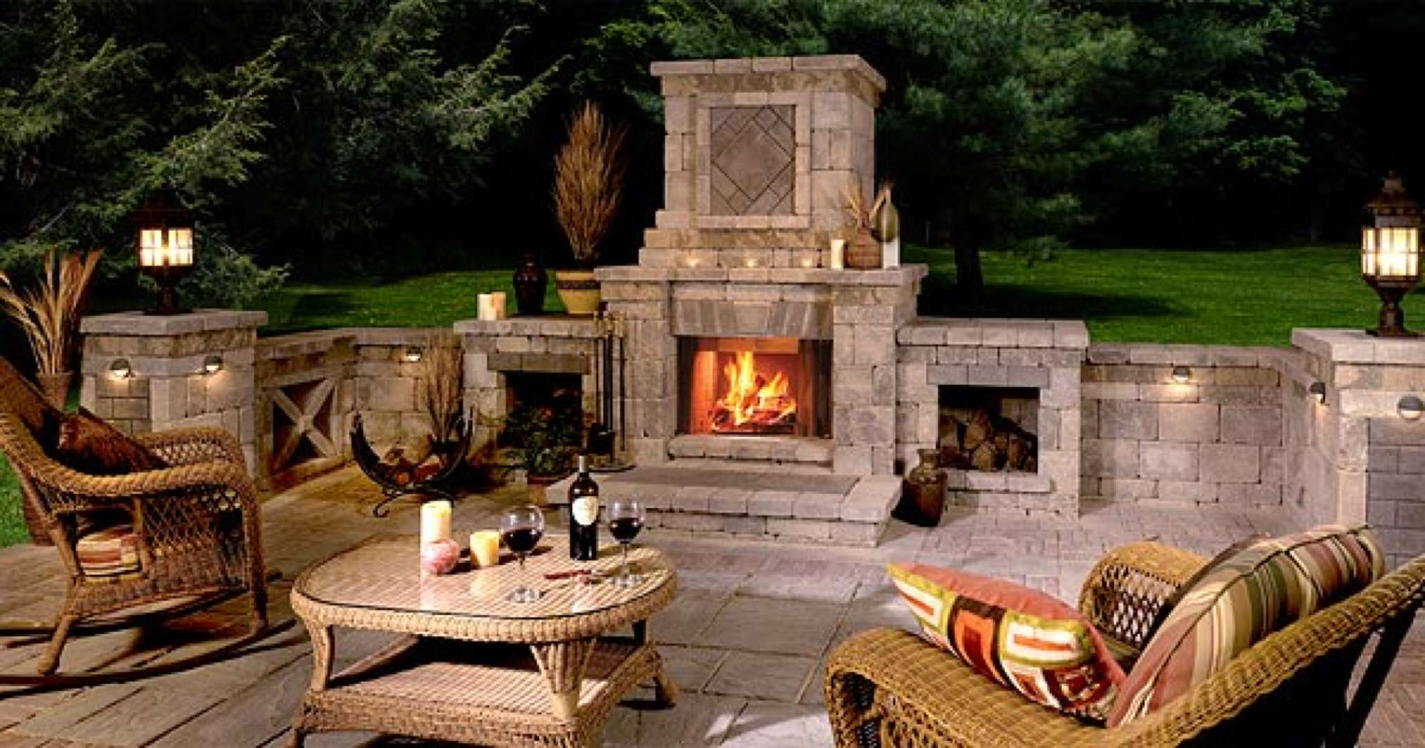 Charmant Long Island Outdoor Fireplace Company