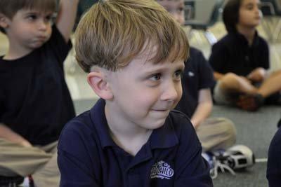 Boy in StarChild Academy's Pre-K Program