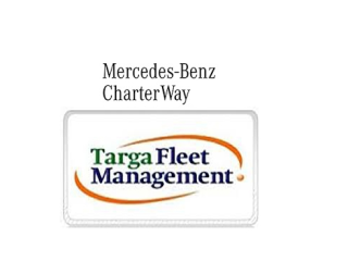 Mercedes Benz Charter Way e Targa Fleet Management