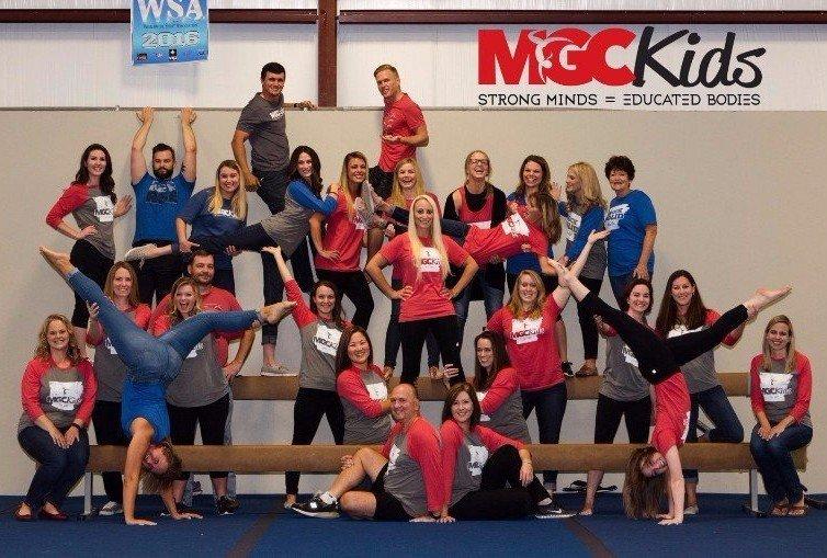 MGC Kids experienced gymnastics, cheer and ninja coaches