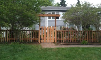 Gate and fences done by our fencing contractor in Anchorage, AK