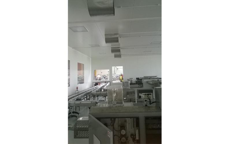 impianto elettrico per industria