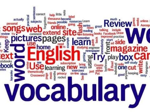 inglese vocabolario