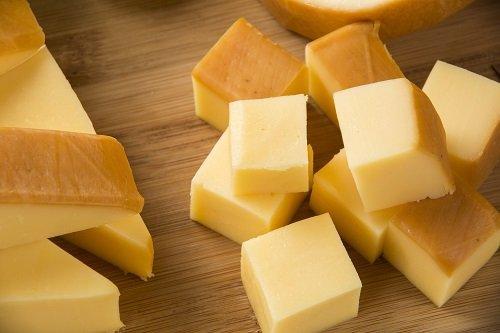 cubetti di formaggio