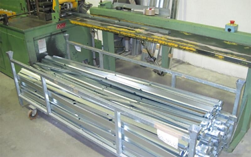 macchinario per materiali filtranti