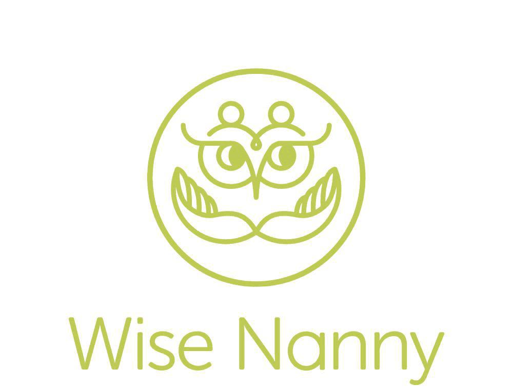 Wise Nanny green logo